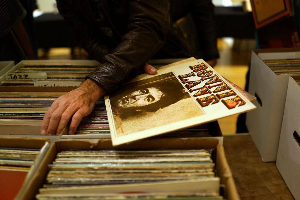 Vinyl - die Erde ist eine Scheibe