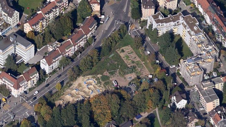 Auf der Kronenwiese entsteht eine neue Wohnsiedlung.