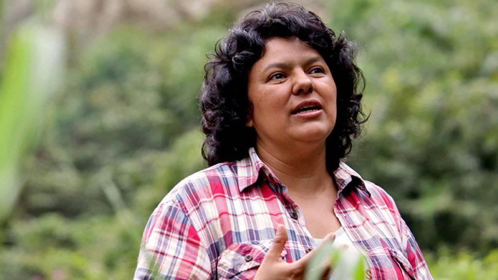 Machte sich mächtige Feinde: Umweltschützerin Berta Cáceres in Honduras getötet. (Archiv)