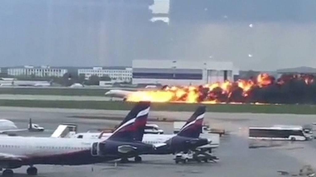 Nach Flugzeug-Inferno in Moskau: So würde der Flughafen Zürich reagieren