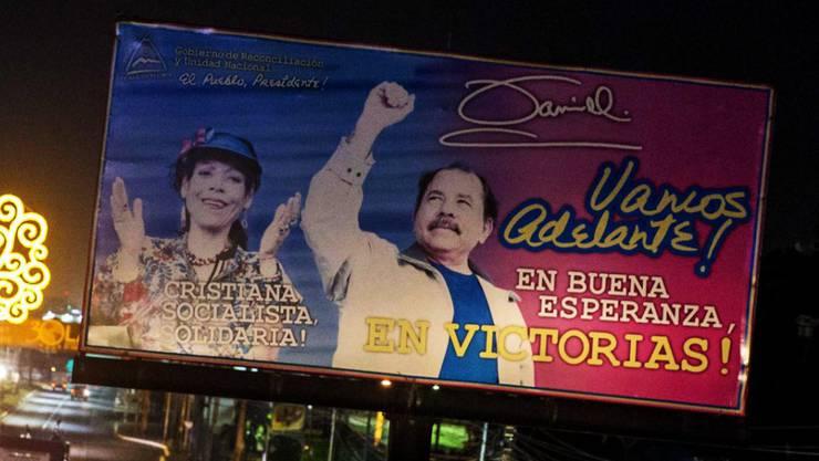 Ein Ehepaar an der Staatsspitze? Nicaraguas Opposition ruft zum Boykott der Wahl von Präsident Daniel Ortega und seiner Frau auf.