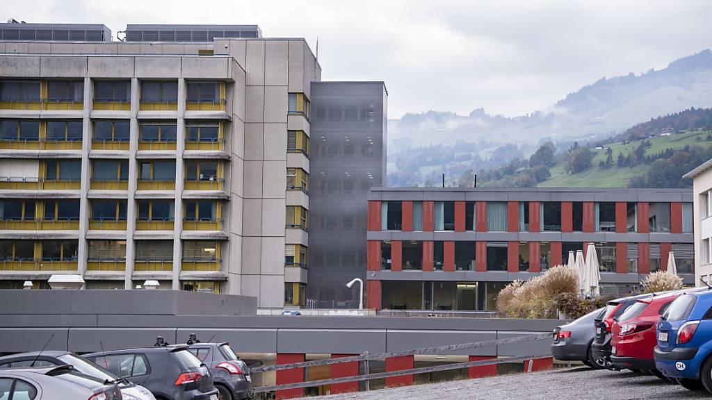 Spital in Schwyz weiterhin voll ausgelastet