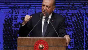 Laut dem türkischen Präsidenten Recep Tayyip Erdogan ist ein Wirtschaftskrieg gegen sein Land im Gang, um ihn zu destabilisieren.