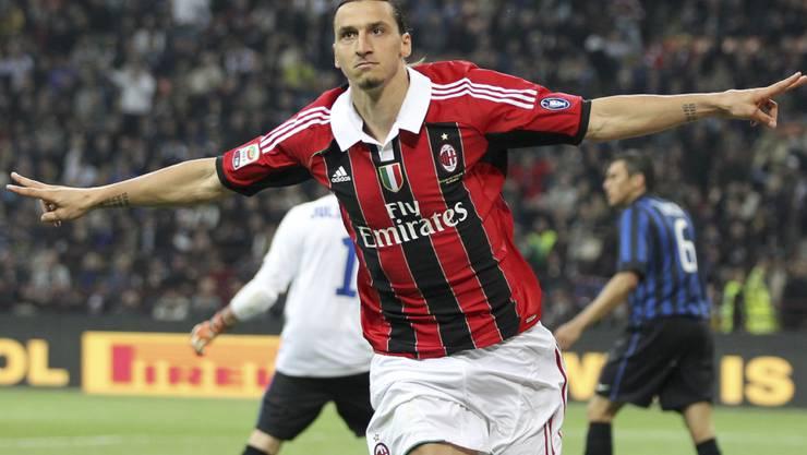 Zlatan Ibrahimovic jubelt künftig wieder bei der AC Milan