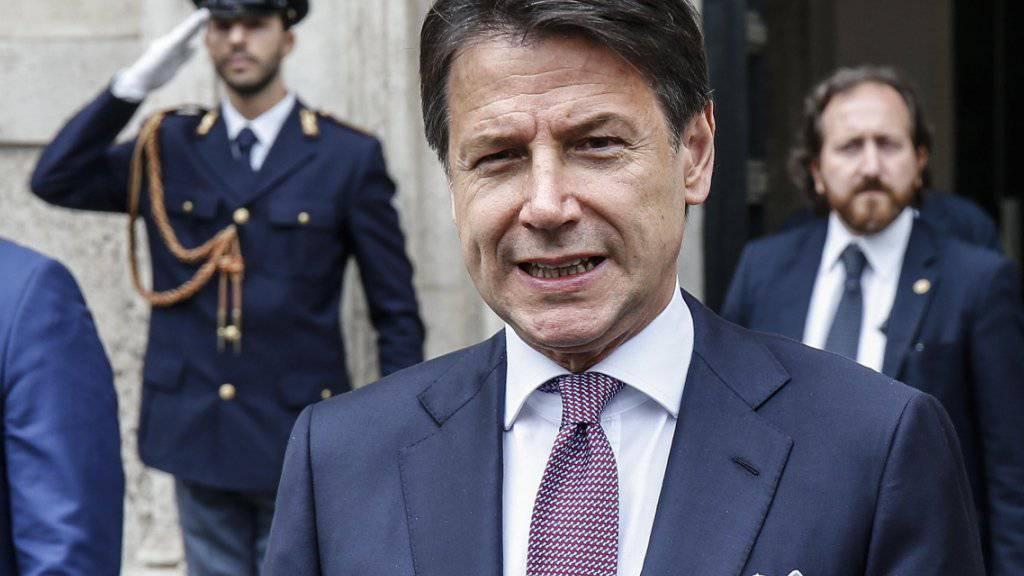 Italiens Premier Conte: «Wir setzen unsere Arbeit fort»