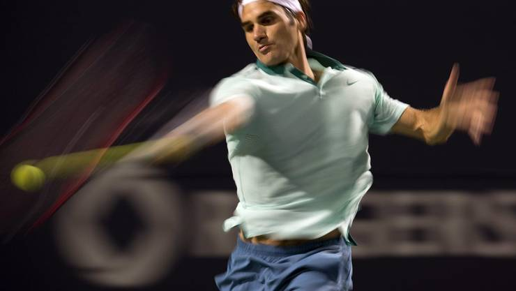 Der Baselbieter Roger Federer muss im Achtelfinal von Toronto hart kämpfen