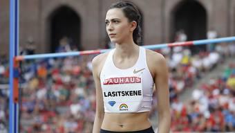 Maria Lasizkene kam für einmal nicht auf Touren