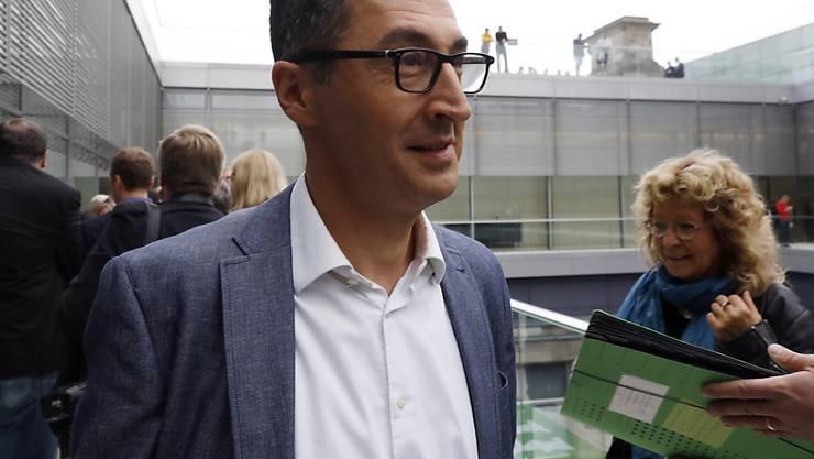 Wird von mutmasslichen Rechtsextremen mit dem Tod bedroht: der türkischstämmige deutsche Grünen-Politiker Cem Özdemir. (Archivbild)