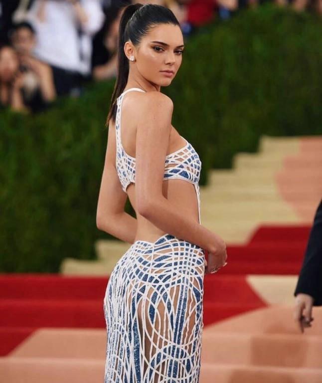 Kendall an der Met Gala