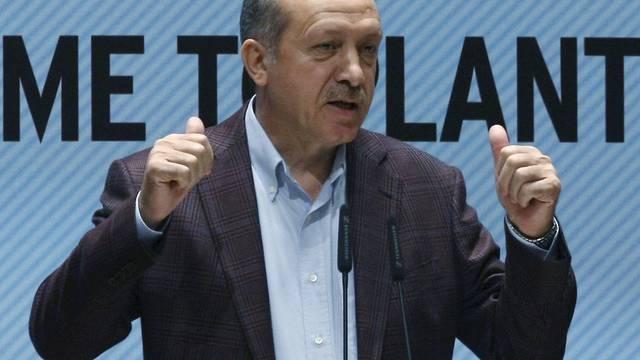 Der türkische Ministerpräsident Recep Erdogan