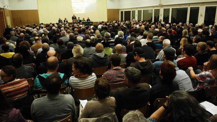 Gemeindeversammlung in Döttingen