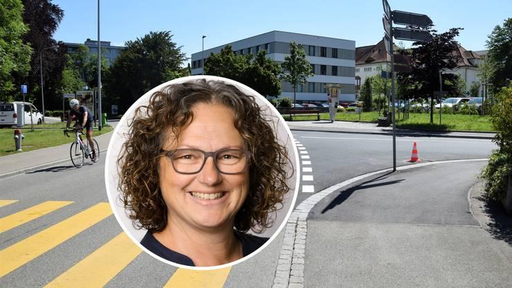 Im Bereich der Schöneggkreuzung soll eine Begegnungszone entstehen. Dafür setzt sich SP-Einwohnerrätin Rita Boeck ein.