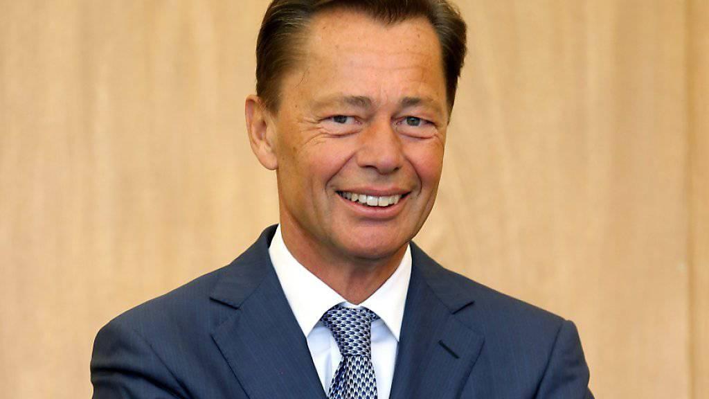 Thomas Middelhoff - früher deutscher Unternehmenschef - soll bald in einer Sozialeinrichtung arbeiten.
