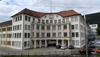 Jugendstil-Bijou: Die ehemalige Uhrenfabrik Michel (heute Swatch Group) beim Grenchner Nordbahnhof.