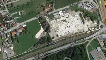 Auf dem rund 75000 Quadratmeter grossen Reichholdareal sollen sich neue Firmen ansiedeln.