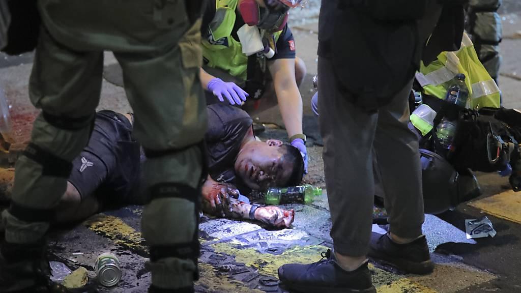 USA verurteilen Gewalt in Hongkong und mahnen Dialog an