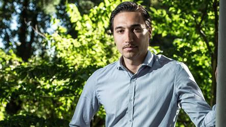 Donato Del Duca (36) ist Anwalt für Flüchtlinge in der Regionalstelle der Heks Aargau-Solothurn in Aarau.