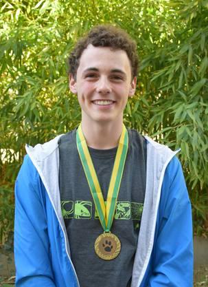 Bronzemedaille: Florin Kalberer aus Seengen, (Neue Kantonsschule Aarau)