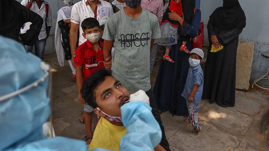 Mehr als 270'000 Corona-Neuinfektionen an einem Tag