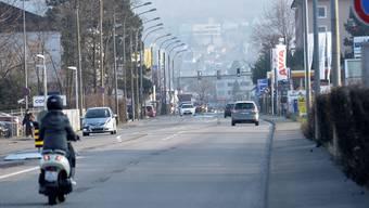 Die Rheinstrasse bleibt auch nach der Abstimmung am Sonntag ein Politikum.