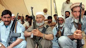 Taliban-Anhänger in Pakistan (Archiv)