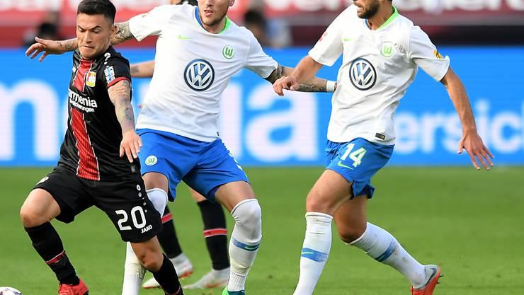 Die Einwechslung von Admir Mehmedi macht sich für Wolfsburg bezahlt