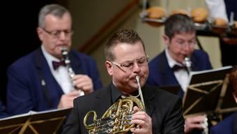 Waldhornist Andreas Kamber sorgte als Solist für einen Höhepunkt.