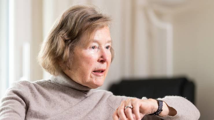 Elisabeth Kopp war von 1984 bis 1989 Justizministerin. (Archivbild)