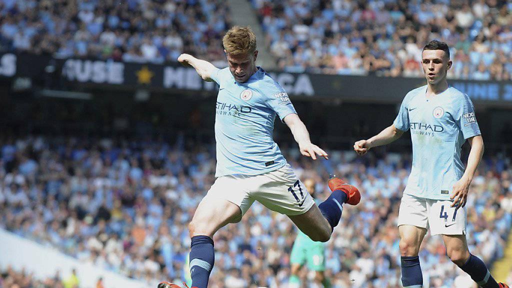 Manchester City festigt dank Sieg gegen Tottenham Tabellenführung