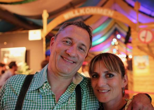 «Ich (Marc Gläser) bin ursprünglich aus Baden, deshalb kommen immer wieder gerne. Wir finden das Oktoberfest sehr cool.»