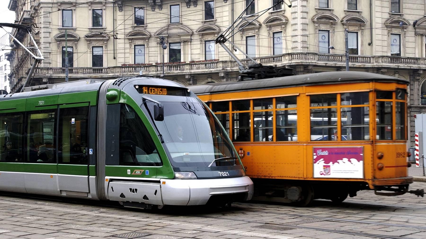 Die norditalienische Metropole Mailand erhält neue Strassenbahnen. Geliefert werden sie vom Ostschweizer Unternehmen Stadler. (Symbolbild)