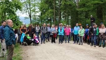 120 Personen liessen sich am Waldgang der Bürgergemeinde Niederbuchsiten über das Leben in Forst und Wald informieren.