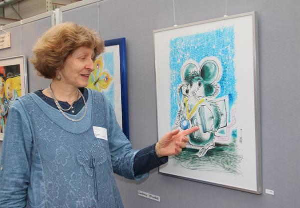 Mein Mann war der Künstler, sagt Iris Gerber