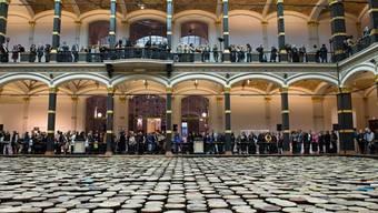 Installation von Ai Weiwei im Martin-Gropius-Bau in Berlin