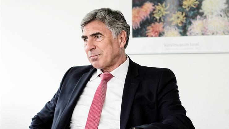 LDP-Nationalrat Christoph Eymann ist mit seinen Fraktionskollegen nicht immer einig.