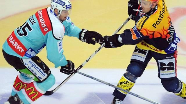 Klotens Kimmo Rintanen (r.) gegen Rappis Niki Siren