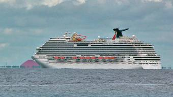 Ein Kreuzfahrtschiff des Unternehmens Carnival vor Mexiko - bald sollen Carnival-Schiffe auch nach Kuba fahren (Archiv)