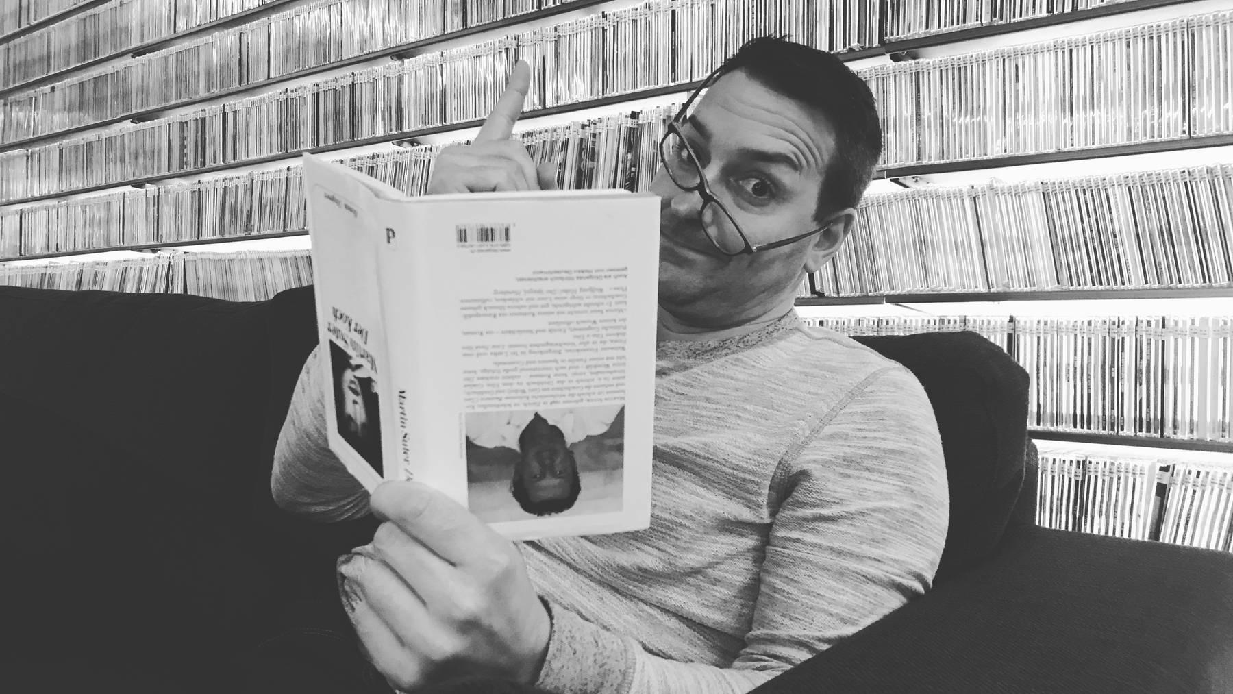 Studer, die Leseratte