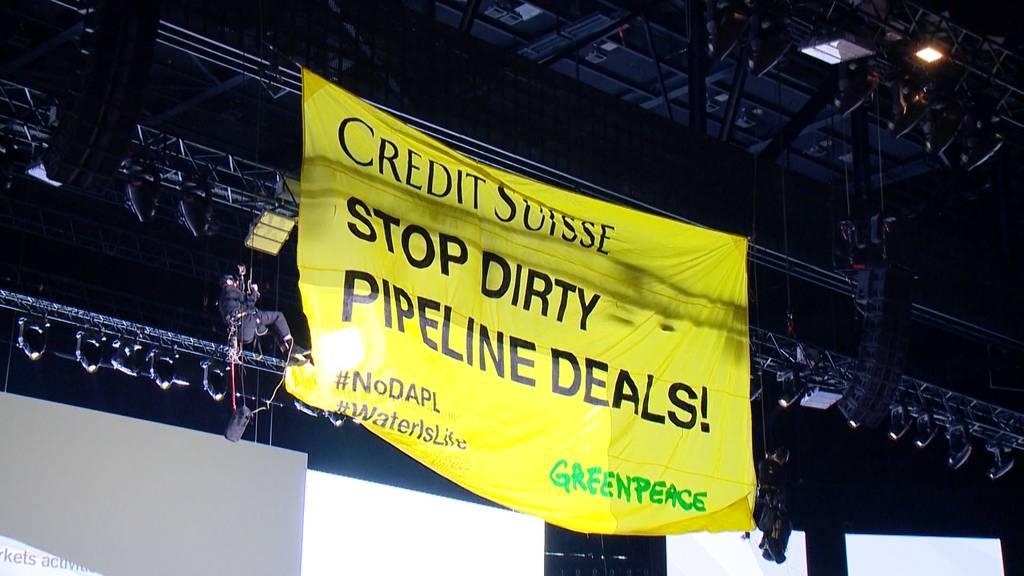 Credit Suisse spionierte Greenpeace aus