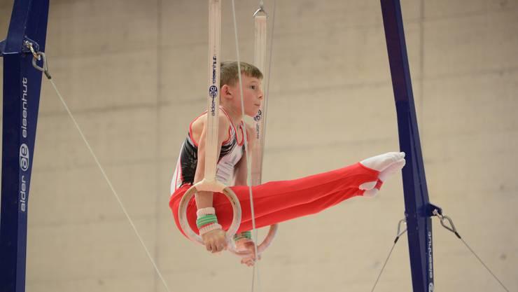 Andrin Erdin nimmt zum ersten Mal an den Schweizer Meisterschaften bei den Junioren teil.