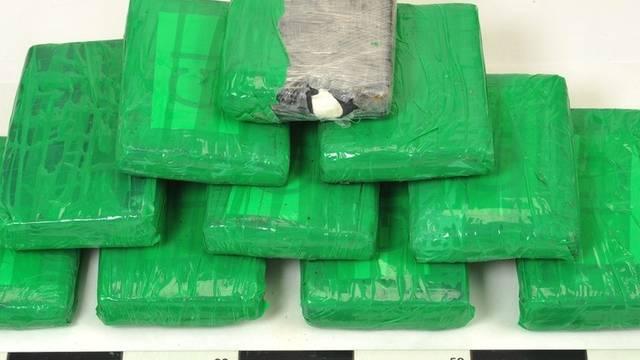 Polizei-Foto des im Thurgau gefundenen Kokains