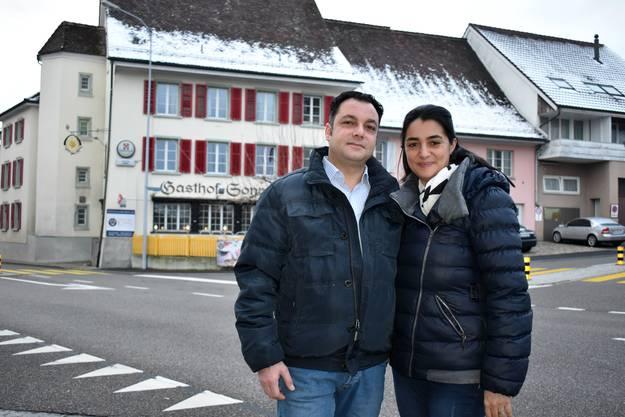 Daniele und Agatina Ieraci aus Eiken eröffneten die Sonne im April 2019.