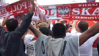 Von wegen keine Euphorie: So heissblütig sind die polnischen Fans