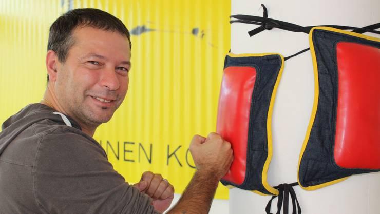 WingTsun-Meister Domenico bietet Kurse in Selbstverteidigung an.