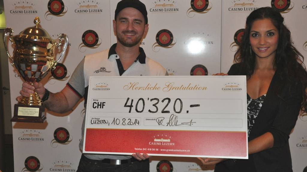 Poker: Casino Luzern zahlt 168'000 Franken aus