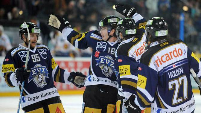 EV Zug definitiv in den Playoffs