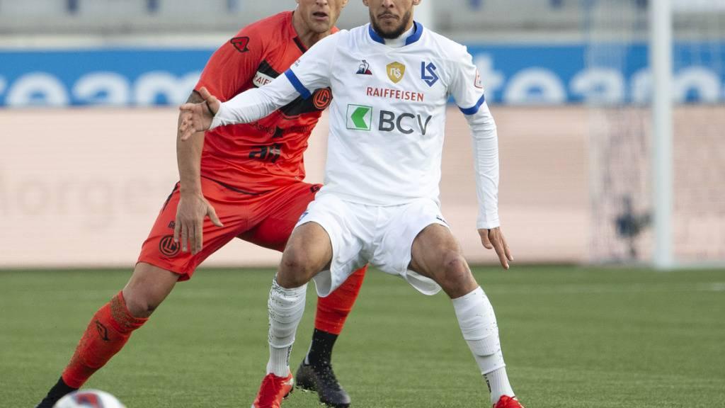 Hicham Mahou erzielte seinen ersten Treffer für Lausanne-Sport in der Super League