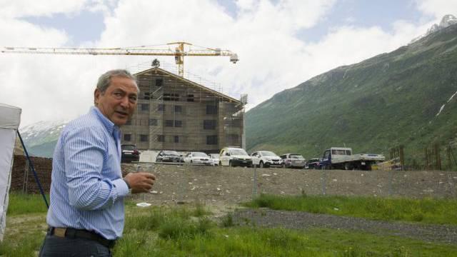 Düstere Zahlen für Orascom: Investor Samih Sawiris (Archiv)