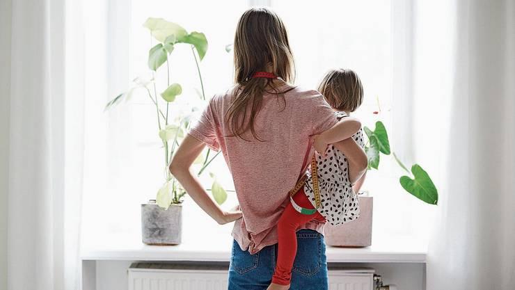 Wie viel Arbeit ist neben der Kinderbetreuung möglich? Vier von fünf Frauen mit Kindern unter sieben Jahren arbeiten Teilzeit.