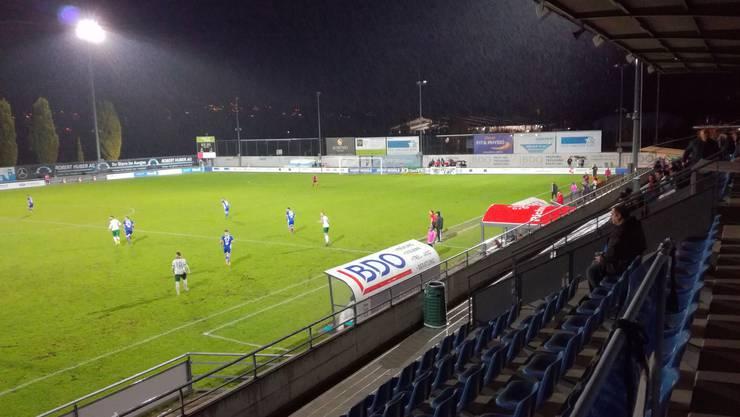 Gegen den FC Yverdon lief es den Wohlern Ende Oktober besser als gegen Stade Nyonnais am 17. November.